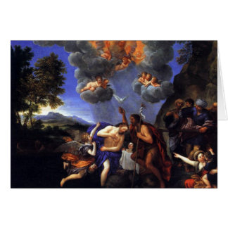The Baptism of Christ Greeting Card