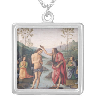 The Baptism of Christ Silver Plated Necklace
