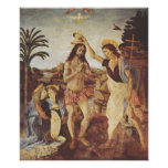 The Baptism of Christ (Verrocchio) Posters