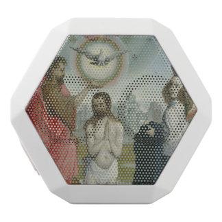 The Baptism of Christ White Bluetooth Speaker