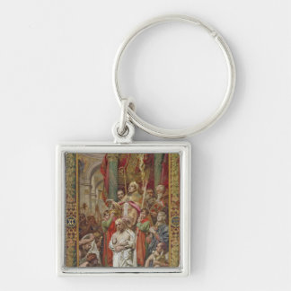 The Baptism of Clovis I Keychain