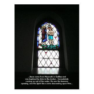 The Baptism of Jesus (Meditation Card) Post Cards