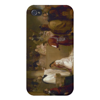 The Baptism of Pocahontas by John Gadsby Chapman Cover For iPhone 4