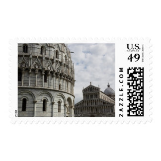 The Baptistery and Duomo in the Piazza Postage