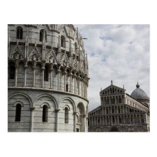 The Baptistery and Duomo in the Piazza Postcard