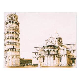 The Baptistery of St John - Leaning Tower Of Pisa Card