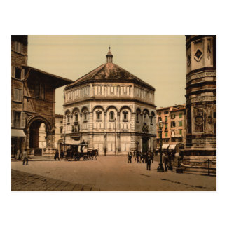 The Baptistry Florence Tuscany Italy Postcards