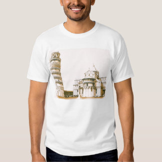 The Baptistry of St John and Leaning Tower Of Pisa Shirt