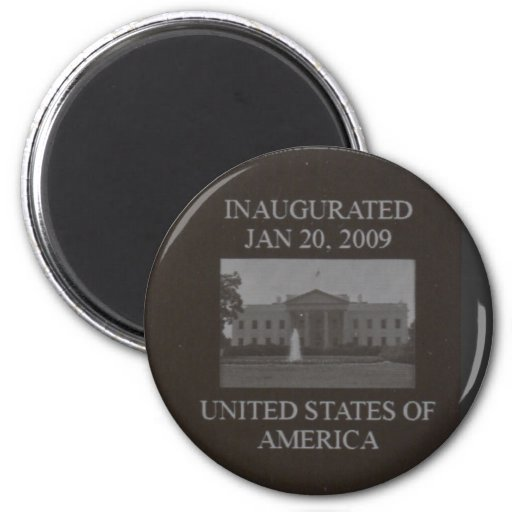 The Barack Obama Presidential Coin Magnets