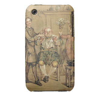 The Barber, c.1760-69 (oil on canvas) Case-Mate iPhone 3 Case