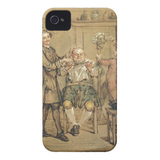 The Barber, c.1760-69 (oil on canvas) Case-Mate iPhone 4 Cases
