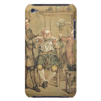 The Barber, c.1760-69 (oil on canvas) Case-Mate iPod Touch Case