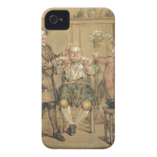 The Barber, c.1760-69 (oil on canvas) iPhone 4 Cover