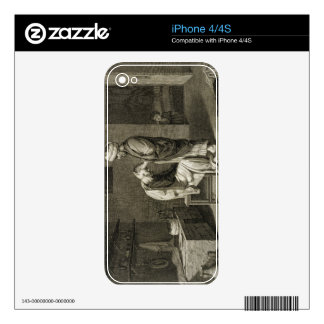 The Barber, from Volume II Arts and Trades of 'Des iPhone 4S Decal