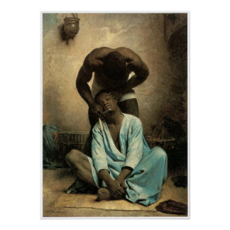 The Barber of Suez, 1876 Poster
