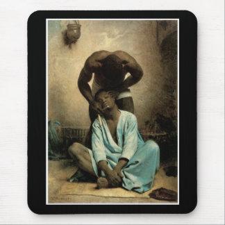 The Barber of Suez by Leon Bonnat, 1876. Mouse Pad