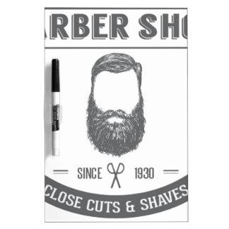 The barber shop Dry-Erase board