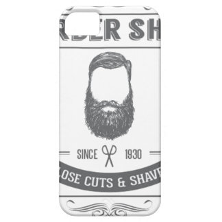 The barber shop iPhone SE/5/5s case