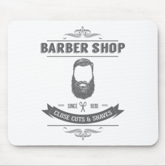 The barber shop mouse pad