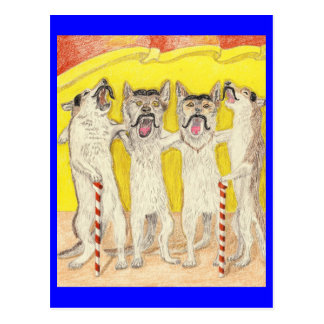 The Barbershop Quartet Postcard