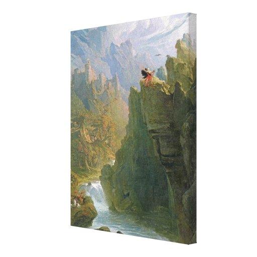 The Bard, c.1817 (oil on canvas) Canvas Print