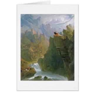 The Bard, c.1817 (oil on canvas) Card