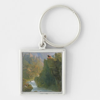 The Bard, c.1817 (oil on canvas) Key Chain