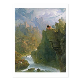 The Bard, c.1817 (oil on canvas) Postcard