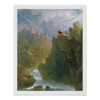 The Bard, c.1817 (oil on canvas) Poster