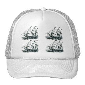The Bark Florida Sailing Ship Bookmark Trucker Hats