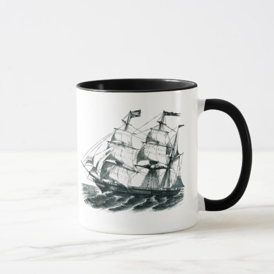 "The Bark ""Florida"" Sailing Ship Bookmark Mug"