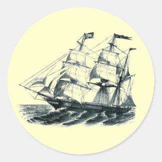 The Bark Florida Sailing Ship Bookmark Stickers