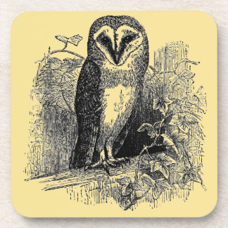 The Barn Owl Beverage Coaster