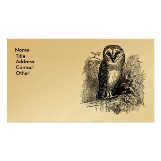 The Barn Owl Business Card