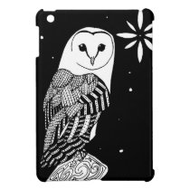 The Barn Owl iPad Mini Cover