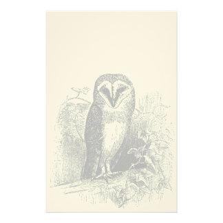 The Barn Owl Stationery