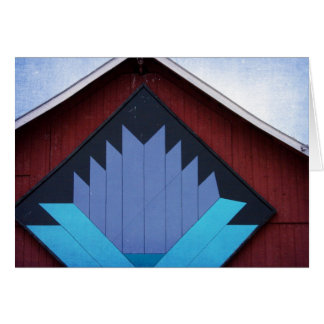 The Barn Quilt Card