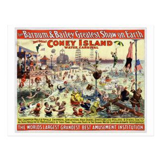 The Barnum and Bailey Greatest Show on Earth Postcard