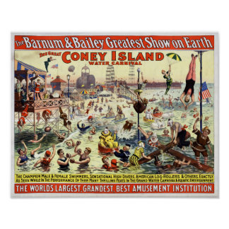 The Barnum and Bailey Greatest Show on Earth Poster