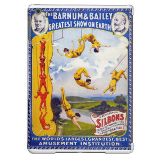 The Barnum & Bailey 1896 Vintage Poster Restored Case For iPad Air