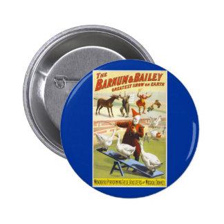 The Barnum & Bailey Circus 2 Inch Round Button