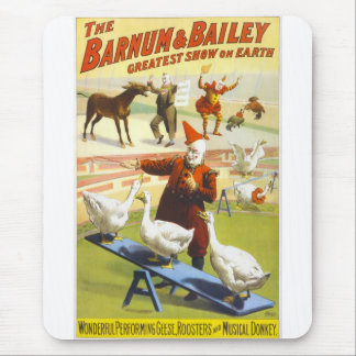 The Barnum & Bailey Circus Mouse Pad