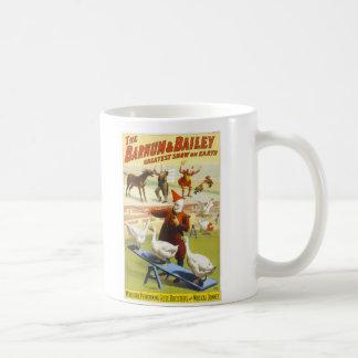 The Barnum & Bailey Circus Classic White Coffee Mug