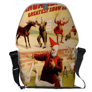 The Barnum & Bailey Greatest Show on Earth Courier Bag