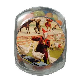 The Barnum & Bailey Greatest Show on Earth Glass Jars