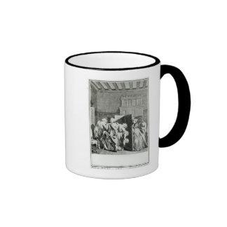 The Baron...saluted Candide Ringer Mug