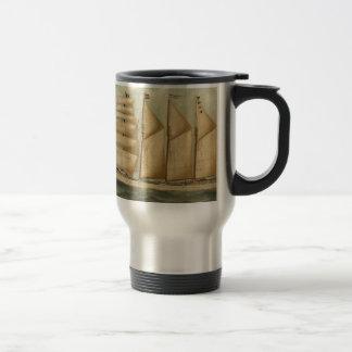 The barquentine Herdis of the American Star Line Mug