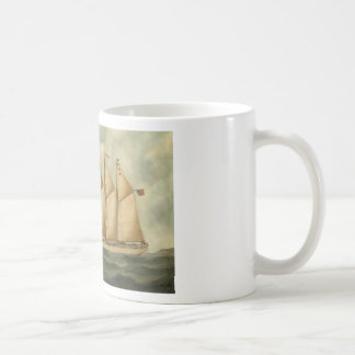 The barquentine Herdis of the American Star Line Mugs