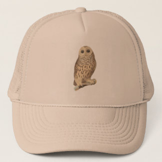 The Barred Owl(Ulula nebulosa) Trucker Hat