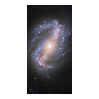 The Barred Spiral Galaxy NGC 6217 Card